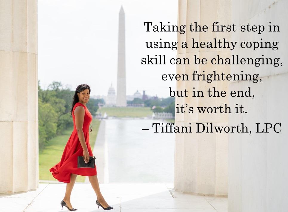 Tiffani Dilworth, Mental Health Therapist, Professional Speaker